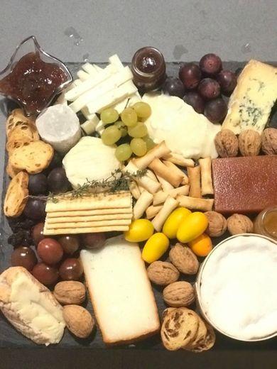 Tablas de queso y tartas de queso 🧀