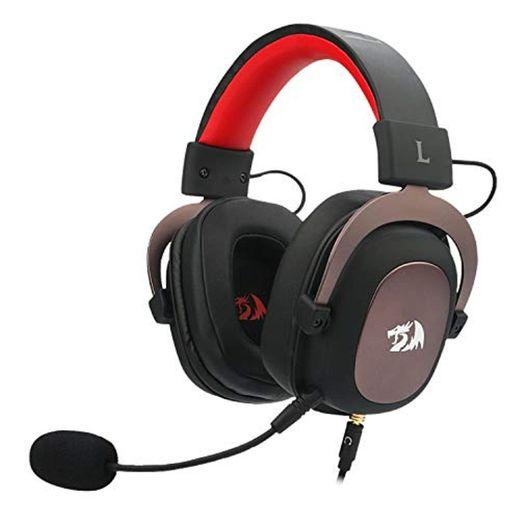 Redragon H510 Zeus 2 - Auriculares Headset cómodos para Gaming - Audio