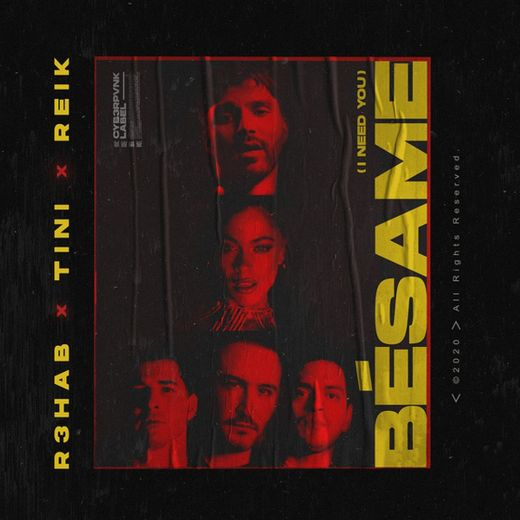 Bésame (I Need You) (with TINI & Reik)