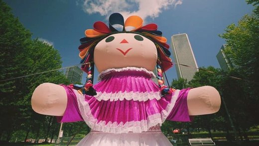 La muñeca gigante Lele llega a la CDMX