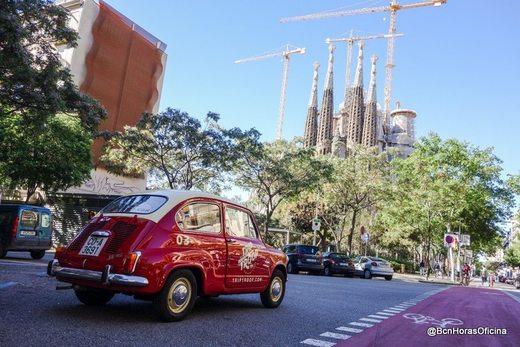 Ruta por Barcelona en un 600