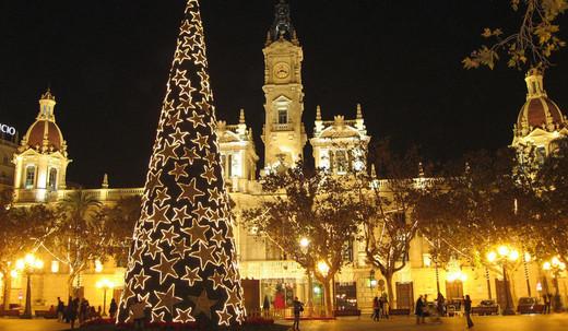 Navidad en Valencia: encendido de las luces y el árbol