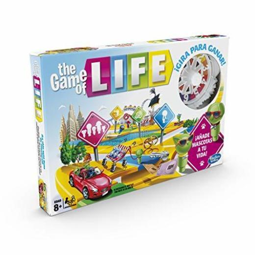 Hasbro Gaming - Juego de mesa Game Of Life