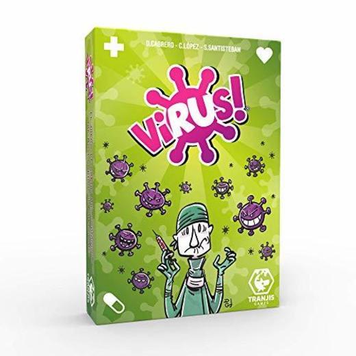 Tranjis Games - Virus! - juego de cartas