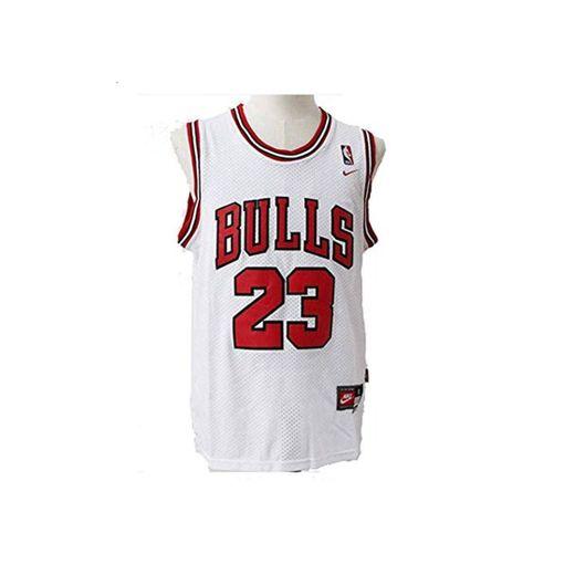 LinkLvoe Camiseta de Baloncesto NBA Michael Jordan # 23 Chicago Bulls para