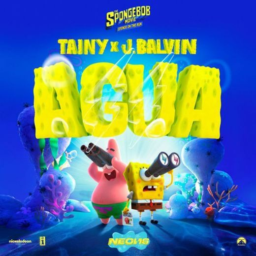 """Agua (with J Balvin) - Music From """"Sponge On The Run"""" Movie"""