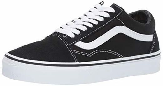 Vans Old Skool, Zapatillas Unisex Adulto, Negro