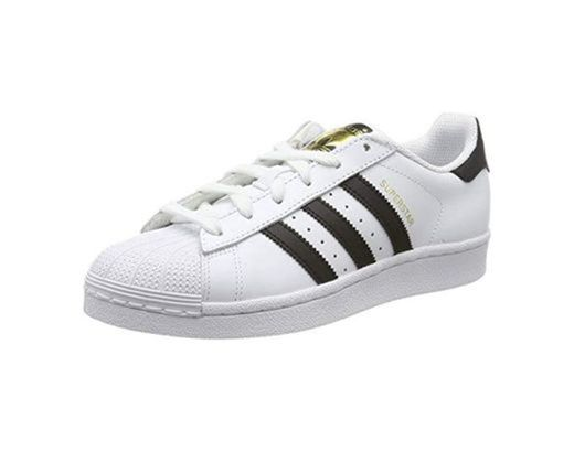 adidas Originals Superstar, Zapatillas Unisex, Niños, Blanco