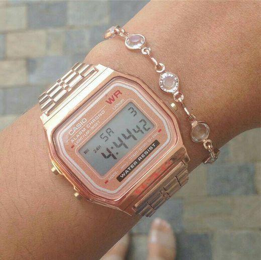 Relógio Casio Rosé