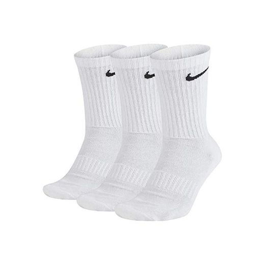 Nike U Nk Everyday Cush Crew 3pr Calcetines