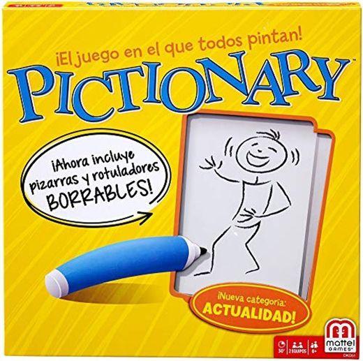 Mattel Games Pictionary, juego de mesa