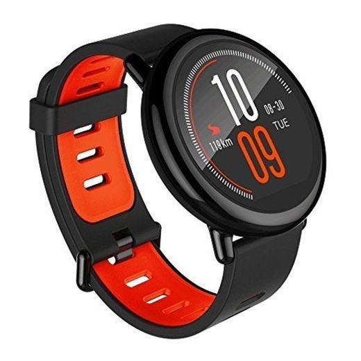 Amazfit Pace Black Pulsera Inteligente con Ritmo Cardíaco y GPS