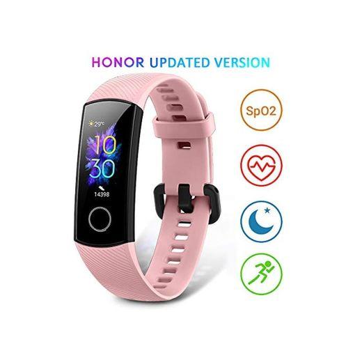 HONOR Band 5 Smartwatch Pulsera de Actividad con Pulsómetro Mujer Hombre