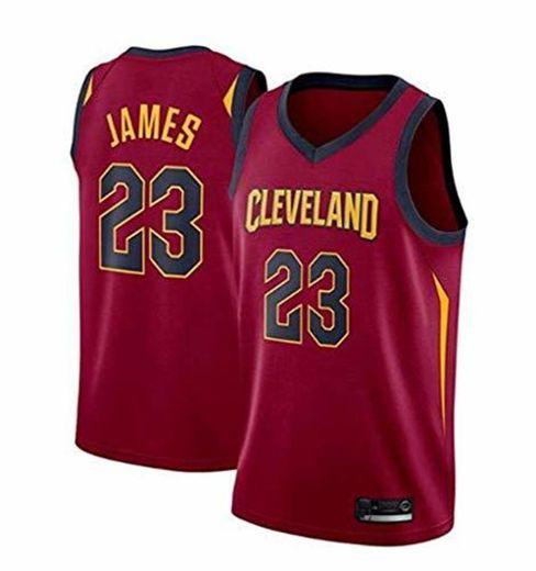 FMSports Jerseys De Baloncesto para Hombre - NBA Cleveland Cavaliers # 23