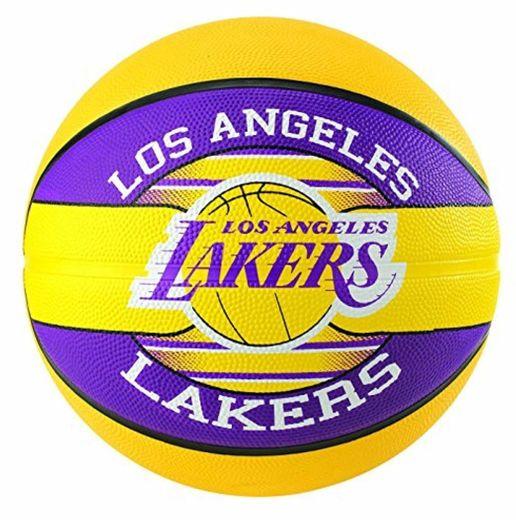 Spalding NBA Team L.A. Lakers 83-585Z Balón de Baloncesto