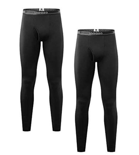 LAPASA Pantalón Térmico Pack de 2 para Hombre