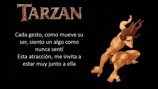Tarzán - Lo Extraño Que Soy (By: Phil Collins) (Letra) - YouTube