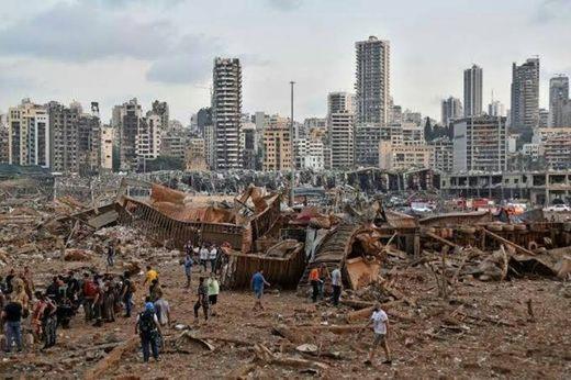 O que aconteceu em Beirute? - YouTube