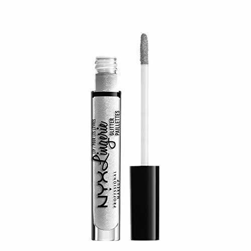 NYX PROFESSIONAL MAKEUP pintalabios líquido brillante Lip Lingerie Glitter Tono 1 Clear