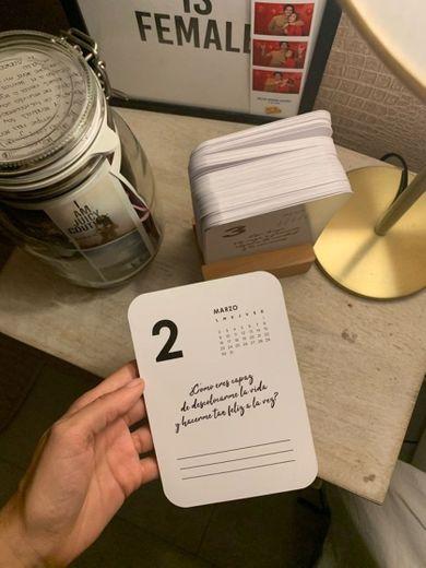 Calendario con frases bonitas diarias