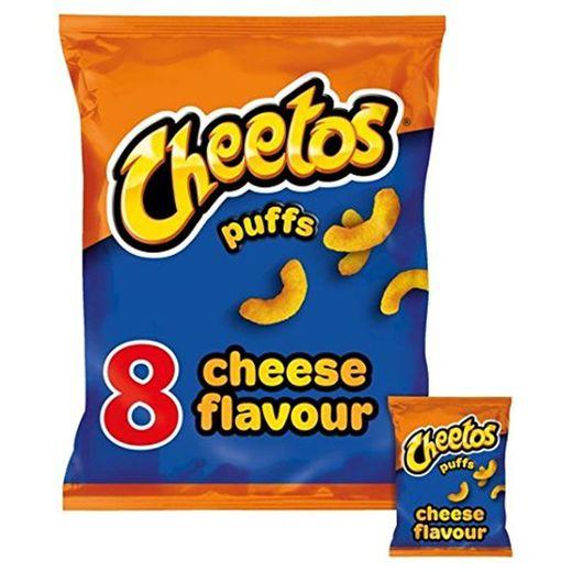 Cheetos 8 Bolitas De Queso Aperitivos Pack 8 X 13g