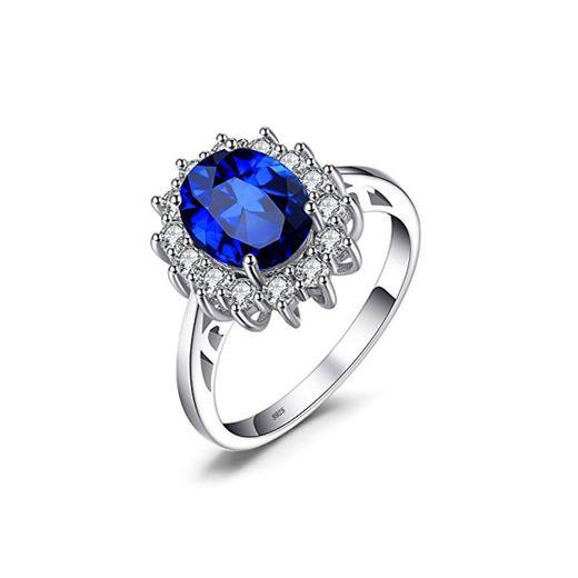 JewelryPalace Anillo de Compromiso Solitario Princesa Diana William Kate Middleton 3