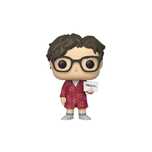 Funko- Pop Vinilo: Big Bang Theory S2: Leonard Figura Coleccionable,