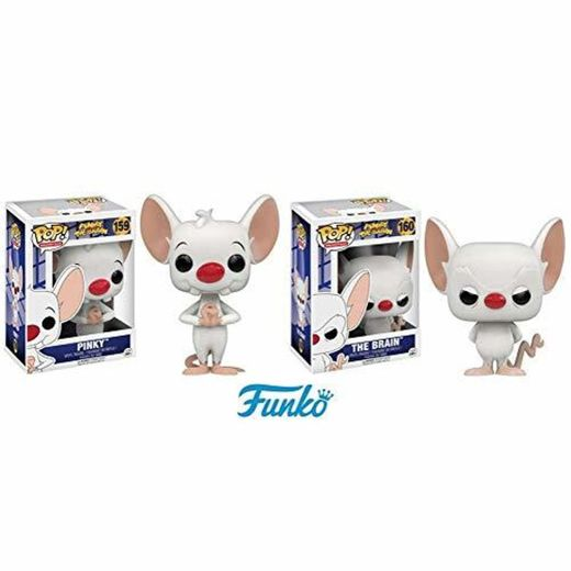 Amazon.com: Funko Pinky and The Brain, The Brain, Pop Animation ...