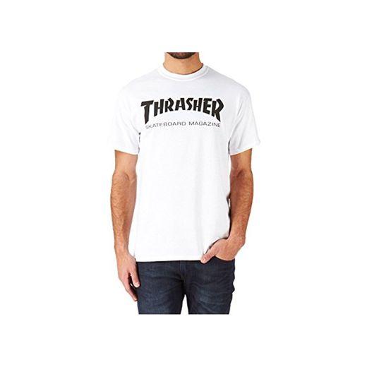 THRASHER Thrasher Skate Mag Camiseta Medio blanco