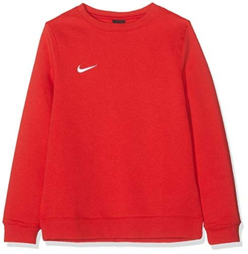 NIKE Y CRW FLC TM Club19 Sudadera, University Red/