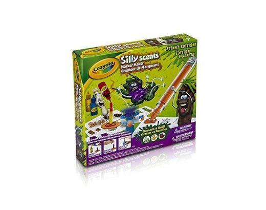 Crayola Silly Scents Stinky Edition Marker Maker