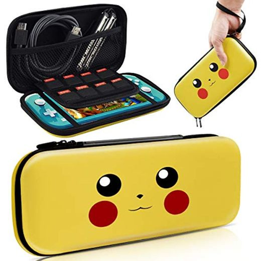 Haobuy Case for Switch Lite, Carrying Case for Pokemon Switch Lite Case