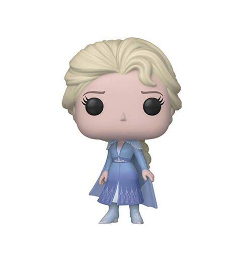 Funko- Pop Disney: Frozen 2-Elsa Figura Coleccionable, Multicolor
