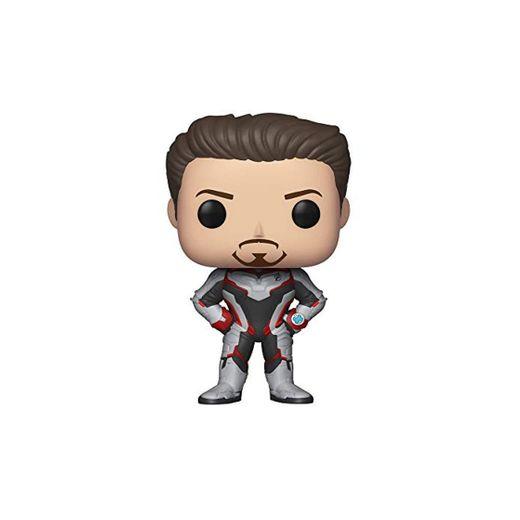 Funko- Pop Bobble: Avengers Endgame: Tony Stark Collectible Figure,