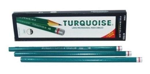 Lápices para dibujo Turquoise
