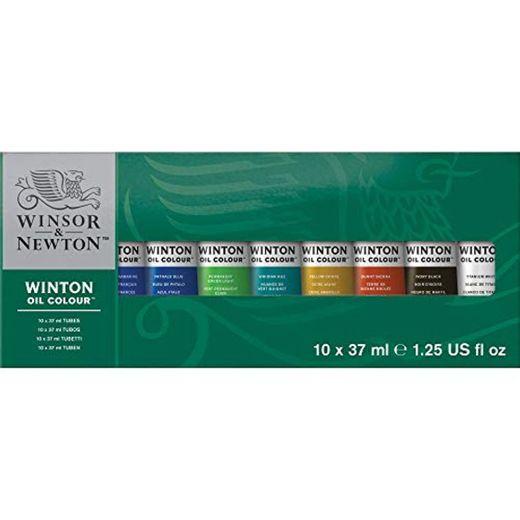 Winsor & Newton- Winton Set de 10 Tubos de 37 ml de