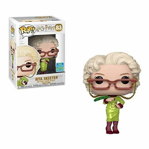Funko Pop Harry Potter Rita Skeeter with Quill SDCC 2019 Shared Sticker