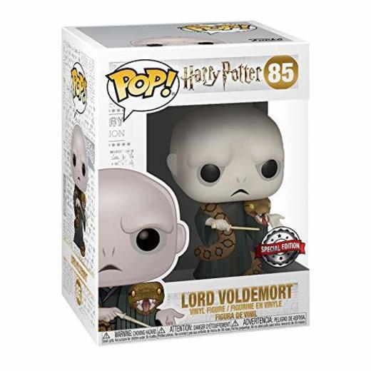 Funko Figura de Harry Potter Lord Voldemort con Nagini Pop No