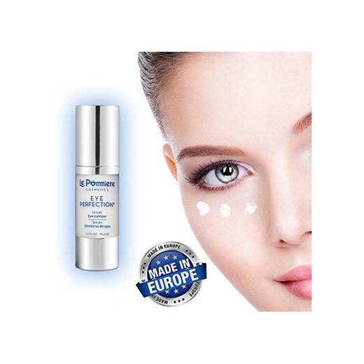Serum contorno ojos 30ml con ácido hialurónico y colágeno. Crema Anti edad