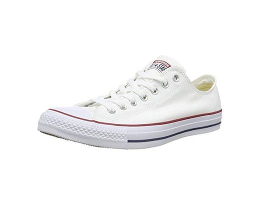 Converse Chuck Taylor All Star Ox, Zapatillas Unisex Adulto, Blanco