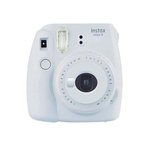 Fujifilm Instax Mini 9 - Cámara instantánea, Solo cámara, Blanco