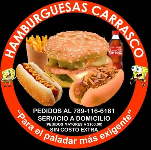 Hamburguesas carrasco,las mejores hamburguesas en Tantoyuca