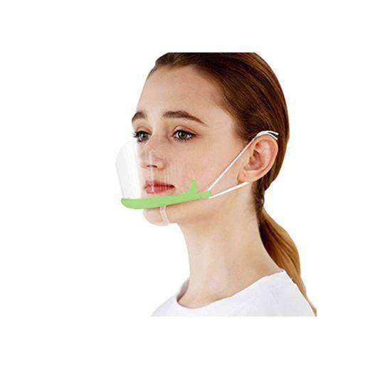 FEOYA Protección Facial Transparente Mujer Hombre 10 Piezas Visera Protectora Anti