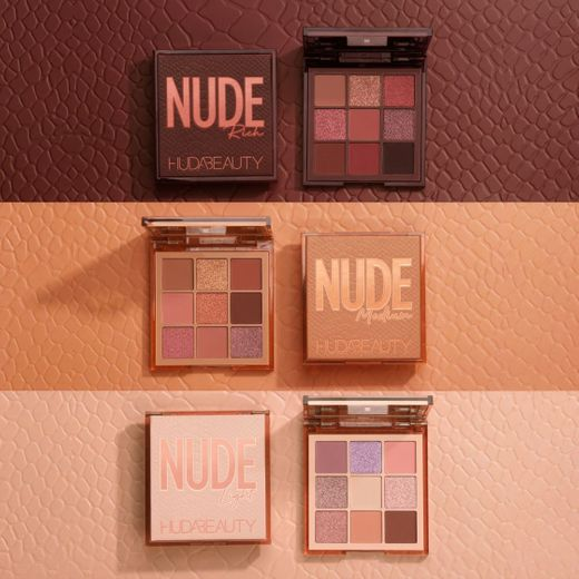 HUDA BEAUTY Nude Obsessions Eyeshadow Palette COLOR
