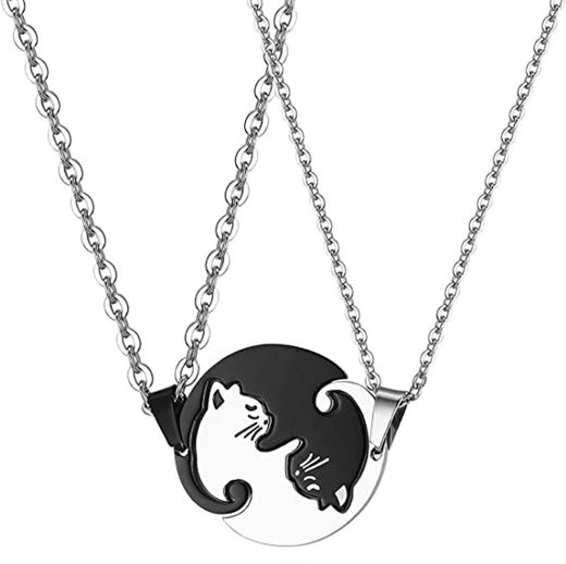 JewelryWe Collares para Parejas Amistad