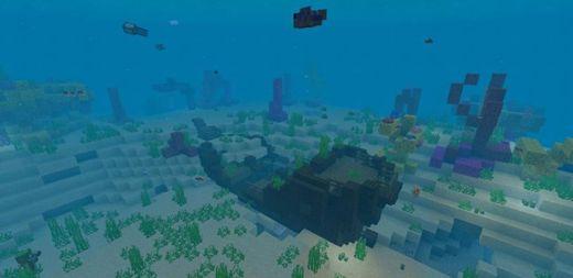 Barco junto al Spawn + Meseta e Icebergs!