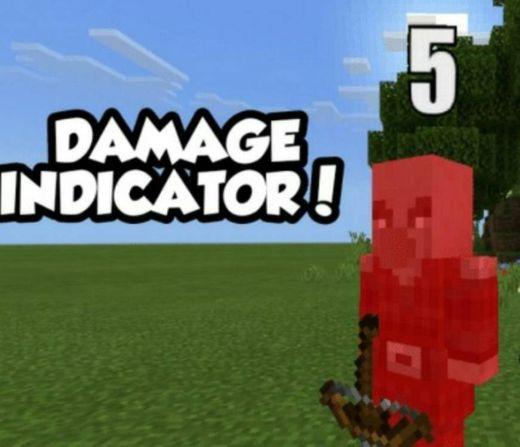 Damage Indicators Script | Minecraft PE Mods & Addons