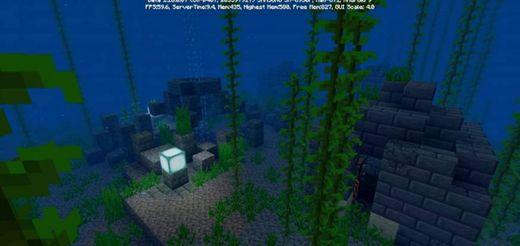 Templo submarino + Isla setas