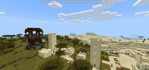Pirámide + Aldea Outpost