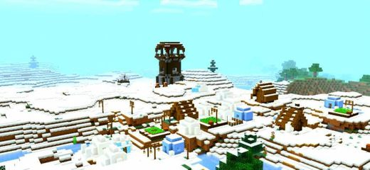 ❄SPAWN JUNTO PILLAGERS Y ALDEA NEVADA❄